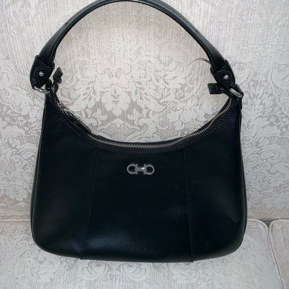 36e33ff6b275 Black Salvatore ferragamo purse